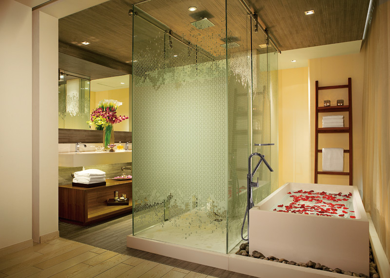 All-Inclusive-Resorts-Mexico-Riviera-Maya-Adults-Only-Resorts-Secrets-Resorts-Secrets-The-Vine-Master-Suite-Bathroom-1